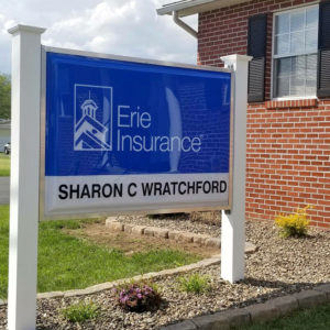 Baker Insurance Sign