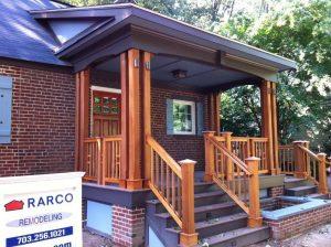 RARCO Contracting new porch