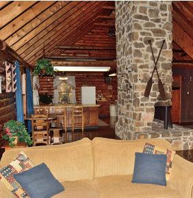Riverside Cabin Interior